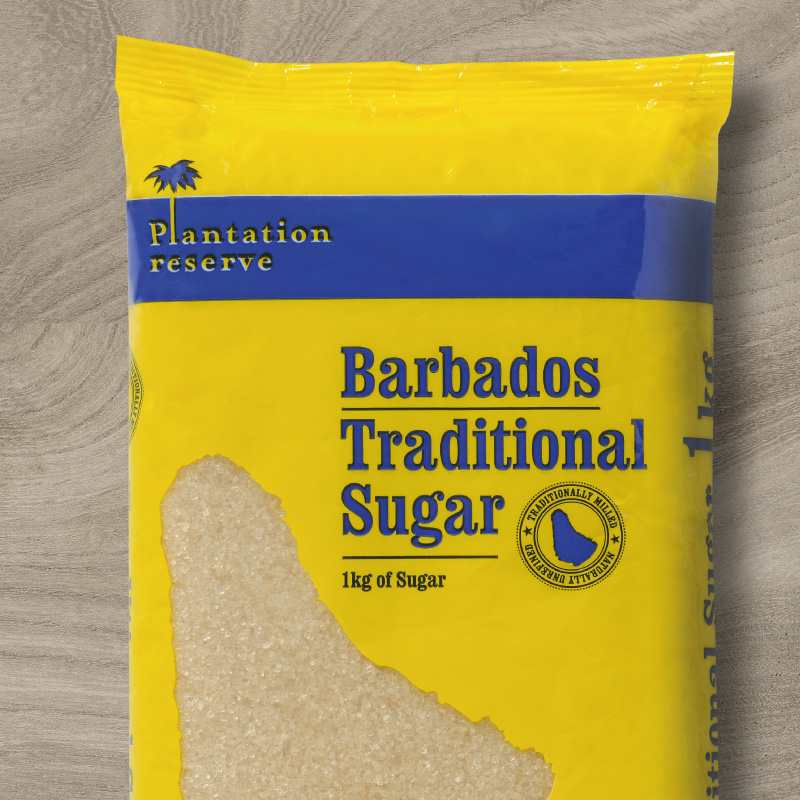 Barbados Sugar packaging